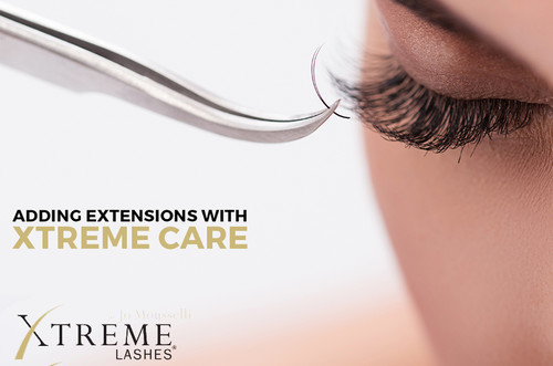 Xtreme Lashes® Eyelash Extensions | Gorgeous Set of Eyelash